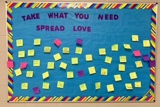 Take What you Need & Spread Love Bulletin