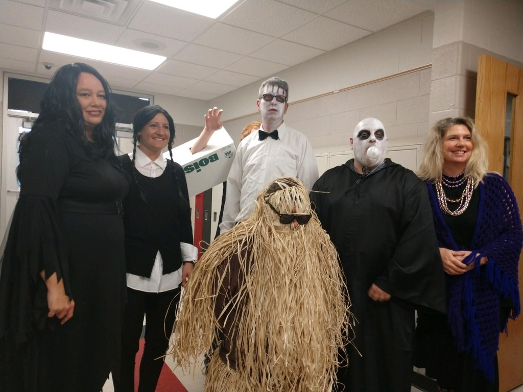 6th-grade Addams Family