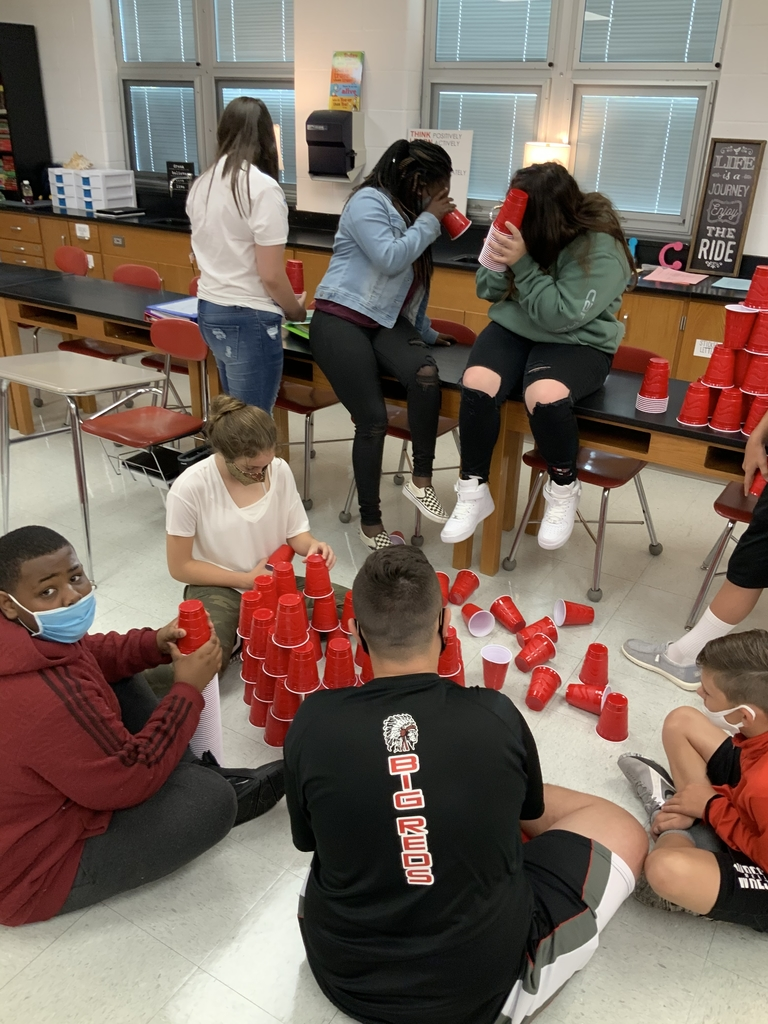 Building cup towers